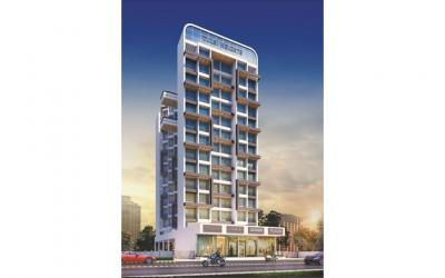 Gallery Cover Image of 725 Sq.ft 1 BHK Apartment for buy in Gurukrupa Tulsi Heights, Ulwe for 5600000