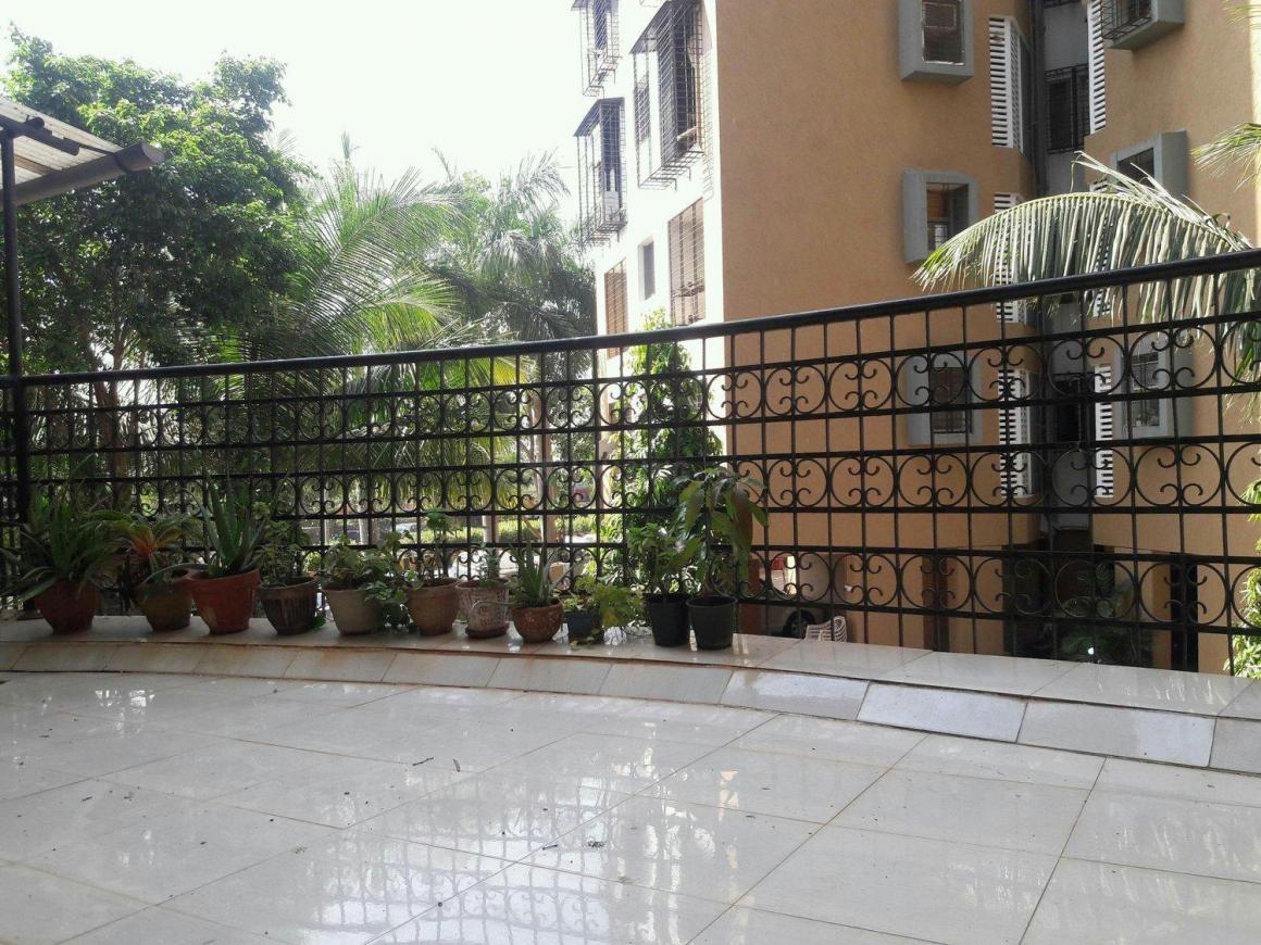 Terrace Image of 1650 Sq.ft 2 BHK Apartment for rent in Kandivali West for 31000