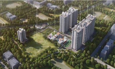 Gallery Cover Image of 1678 Sq.ft 3 BHK Apartment for buy in Bhandari Associates 7 Plumeria Drive Phase 2, Punawale for 11120000