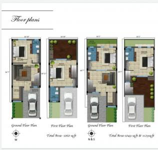 Gallery Cover Image of 1050 Sq.ft 2 BHK Villa for buy in Lawspet for 3500000