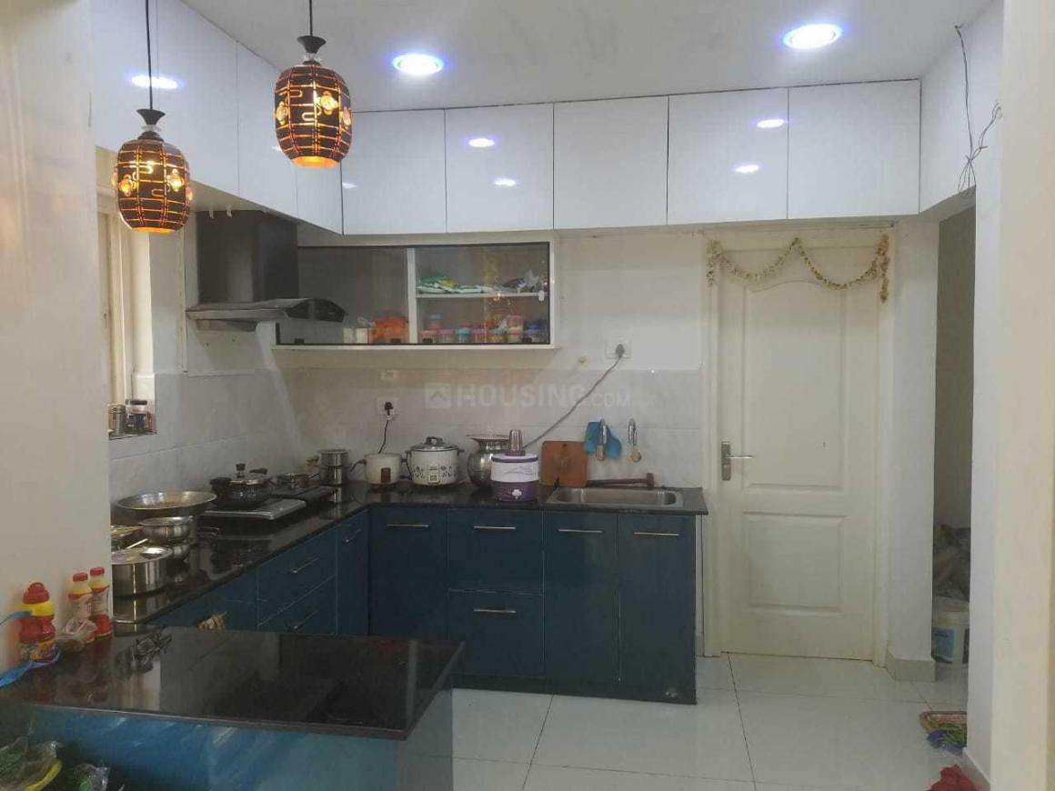 Kitchen Image of 1760 Sq.ft 3 BHK Apartment for rent in Narsingi for 30000