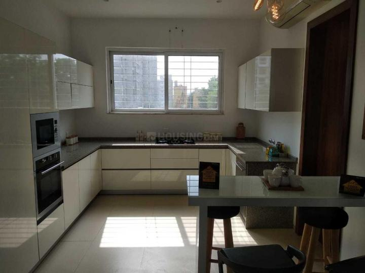 Kitchen Image of 1090 Sq.ft 2 BHK Apartment for rent in Wakad for 19000