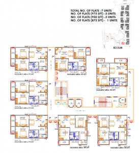 Gallery Cover Image of 975 Sq.ft 2 BHK Apartment for buy in Bachupally for 4500000
