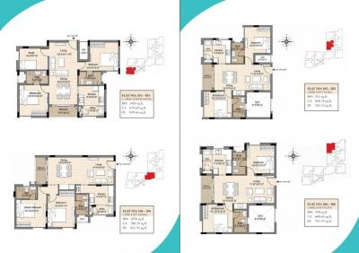 Gallery Cover Image of 1070 Sq.ft 2 BHK Apartment for buy in Newry Arista, Kolathur for 6418930