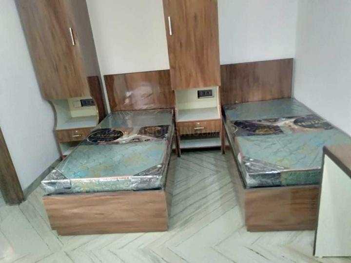 Bedroom Image of Aryan PG in Karol Bagh