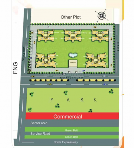 Gallery Cover Image of 2150 Sq.ft 3 BHK Villa for buy in Rani Akriti Shantiniketan, Sector 143B for 11768000
