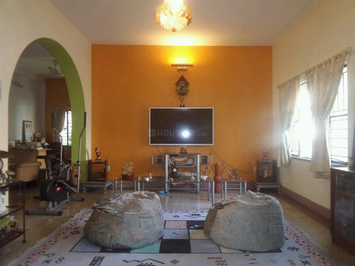 Living Room One Image of 2400 Sq.ft 4 BHK Independent Floor for buy in Garia for 7000000