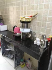 Kitchen Image of Danish Residencey in Kurla East