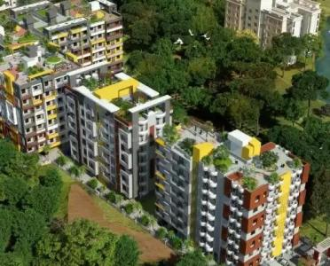 Gallery Cover Image of 1025 Sq.ft 2 BHK Apartment for buy in Abhi Amba Tower, Gorgawan for 2600000