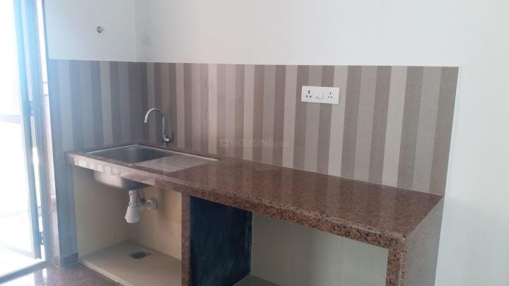 Kitchen Image of 646 Sq.ft 2 BHK Apartment for rent in Thane West for 24000