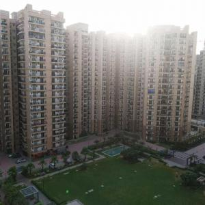 Bedroom Image of 1440 Sq.ft 3 BHK Apartment for rent in Nirala Estate, Noida Extension for 9000