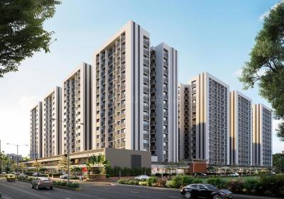 Gallery Cover Image of 1615 Sq.ft 3 BHK Apartment for buy in Shaligram Prime, Bopal for 7150000