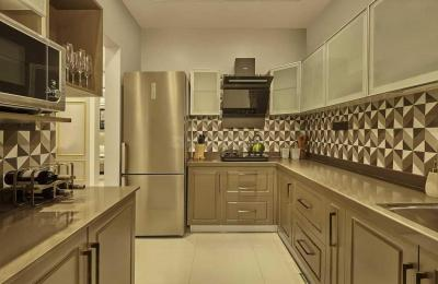 Kitchen Image of 1000 Sq.ft 2 BHK Apartment for buy in BramhaCorp The Collection, Wadgaon Sheri for 7700000