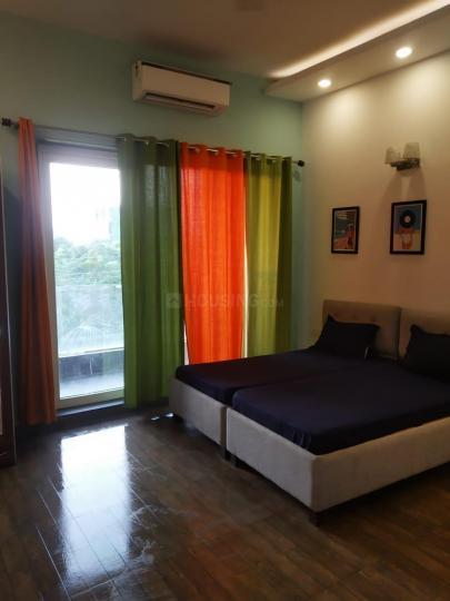 Bedroom Image of Furnished PG Building in Sushant Lok I