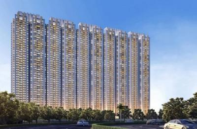 Gallery Cover Image of 603 Sq.ft 1 BHK Apartment for buy in Raymond Ten X Habitat Raymond Realty Tower J, Thane West for 7200000