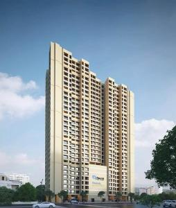 Gallery Cover Image of 640 Sq.ft 2 BHK Apartment for buy in Raunak Residency, Thane West for 9200000
