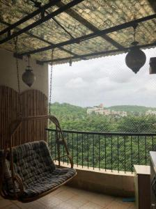 Balcony Image of 1700 Sq.ft 3 BHK Apartment for rent in Amit 9 Green Park, Bibwewadi for 40000