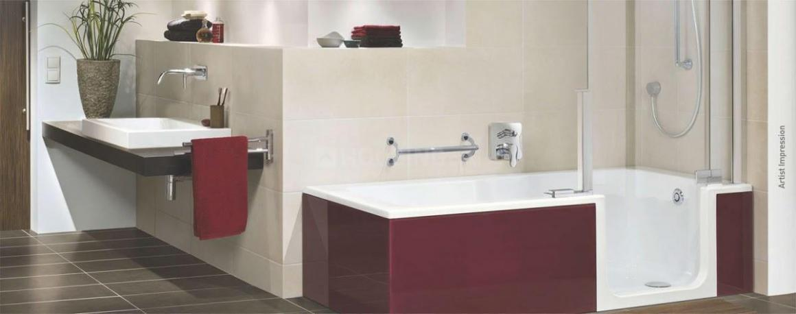 Common Bathroom Image of 1200 Sq.ft 2 BHK Apartment for buy in Thane West for 16500000