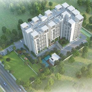 Gallery Cover Image of 410 Sq.ft 1 BHK Apartment for buy in Hinjewadi for 3375000