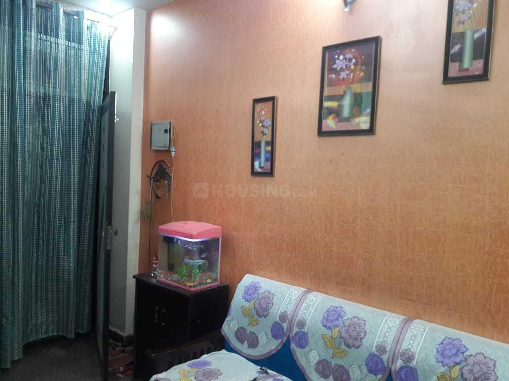 Living Room Image of 650 Sq.ft 1 BHK Independent Floor for rent in Vaishali for 14000