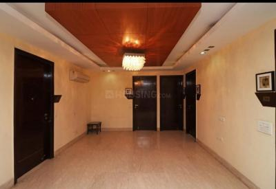 Living Room Image of North East Residency PG in Sector 55