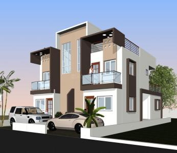 Gallery Cover Image of 1500 Sq.ft 3 BHK Independent House for buy in Lohegaon for 5800000