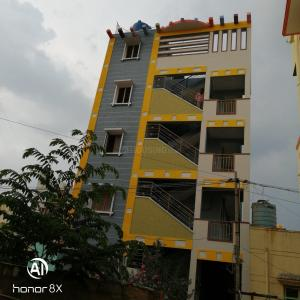 Gallery Cover Image of 800 Sq.ft 1 BHK Independent House for rent in Voderahalli for 5300