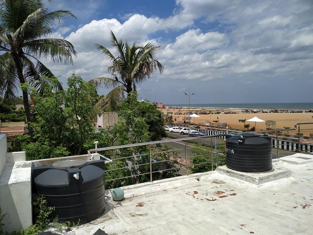 Terrace Image of 1098 Sq.ft 1 BHK Independent House for buy in Besant Nagar for 25000000