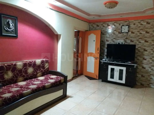 Living Room Image of 1150 Sq.ft 2 BHK Apartment for rent in Vashi for 30000