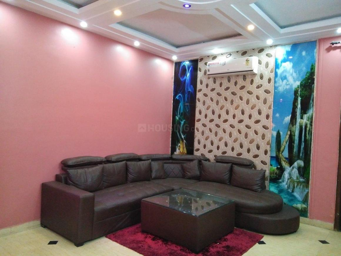 Living Room Image of 900 Sq.ft 2 BHK Independent Floor for rent in Malviya Nagar for 30000