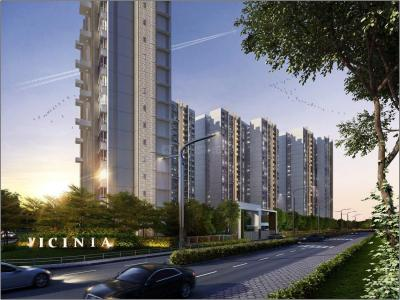 Gallery Cover Image of 1600 Sq.ft 3 BHK Apartment for buy in Shapoorji Pallonji Vicinia, Powai for 29600000