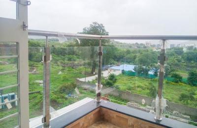 Balcony Image of Royal Hills Flat No 401 in Bavdhan