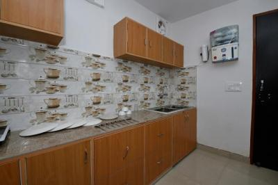 Kitchen Image of Oyo Life Grg1094 Sector 20 in Sector 20