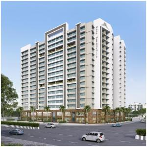 Gallery Cover Image of 770 Sq.ft 1 BHK Apartment for buy in Grace Urban Development Corporation Mass Metropolis, Chembur for 9000000