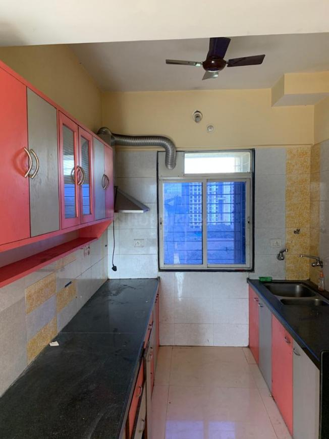 Kitchen Image of 1500 Sq.ft 3 BHK Apartment for rent in Thane West for 25000