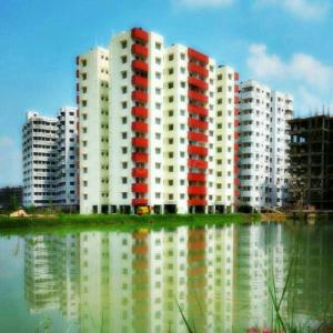Gallery Cover Image of 1200 Sq.ft 3 BHK Apartment for buy in Tapoban Park View Residency, Gopalpur for 2415000