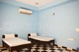 Bedroom Image of Fully Furnished PG With Workplace In Thane Majiwada Ynh in Thane West