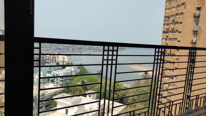 Balcony Image of 2500 Sq.ft 4 BHK Apartment for rent in Silver Dunes, Prabhadevi for 120000
