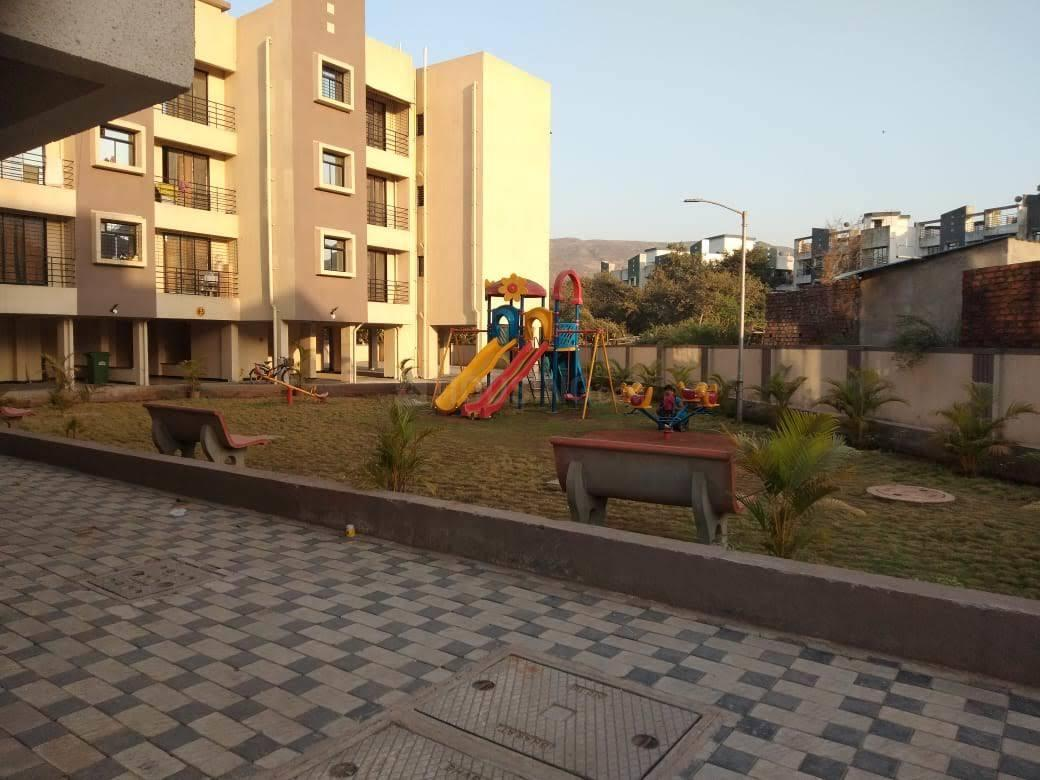 Playing Area Image of 632 Sq.ft 1 BHK Apartment for rent in Hedutane for 4000