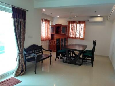 Gallery Cover Image of 3000 Sq.ft 3 BHK Apartment for rent in Gachibowli for 90000