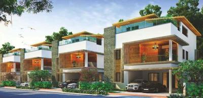 Gallery Cover Image of 4567 Sq.ft 4 BHK Villa for buy in Bandlaguda Jagir for 45600000