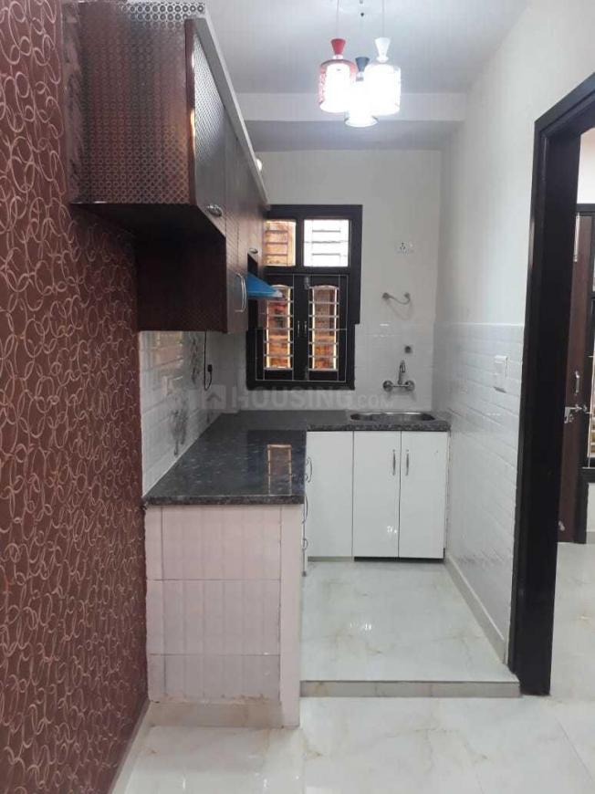 Kitchen Image of 500 Sq.ft 1 BHK Independent Floor for rent in Bindapur for 7500
