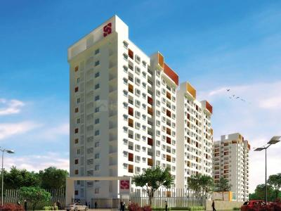 Gallery Cover Image of 1016 Sq.ft 2 BHK Apartment for buy in Svamitva Emerald Square, Bommasandra for 4100000