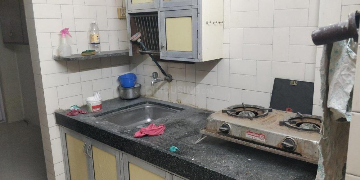Kitchen Image of 400 Sq.ft 1 BHK Apartment for rent in Borivali West for 45000