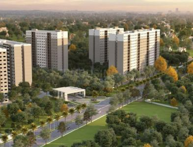 Gallery Cover Image of 678 Sq.ft 1 BHK Apartment for buy in Thanisandra for 3900000