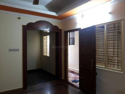 Gallery Cover Image of 550 Sq.ft 1 BHK Independent Floor for rent in Horamavu for 8000