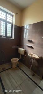 मनेसार में यादव पीजी के बाथरूम की तस्वीर