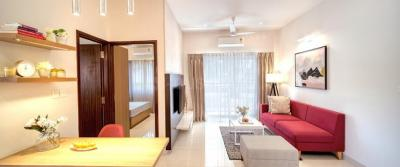 Gallery Cover Image of 1000 Sq.ft 2 BHK Apartment for buy in Adarsh Greens, Kogilu for 4790000