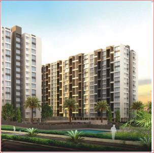 Gallery Cover Image of 646 Sq.ft 1 RK Apartment for buy in Goel Ganga Aria, Dhanori for 4046684