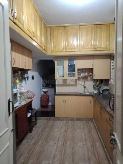 एचबीआर लेआउट में कृपा होमस्टे पीजी में किचन की तस्वीर